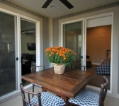 Screened In Porch - Access from Master Bedroom and Dining Area