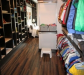 BOY'S WALK-IN CLOSET